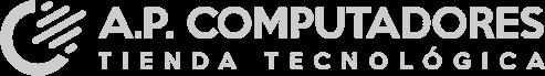 Logo de AP Computadores, tienda de tecnología y computadores en Cali
